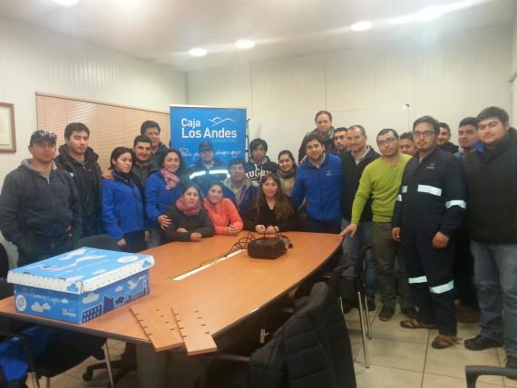 Nos cambiamos a Caja Los Andes